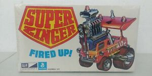 Vintage 1972 MPC 1:32 Super Zinger Fired Up Model Mint New Sealed Scarce #1 X1