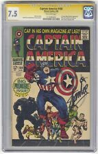 Captain America #100 CGC 7.5 HIGH GRADE Marvel KEY Signature Series Stan Lee
