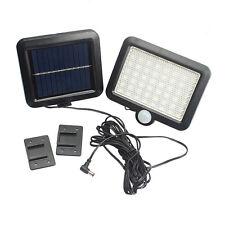 56 LED Outdoor Motion Sensor Solar Light Solar Wall Lights for Garden Fence