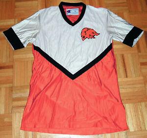 Champion Jersey Vintage 90s Warm Up Shirt College High School Basketball Bears L