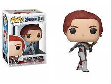 Funko- Pop Bobble Avengers Endgame Black Widow Collectible Figure Multi
