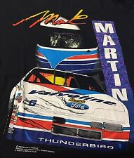 Vintage Mark Martin NASCAR Valvoline 1994 Medium Short Sleeve Tee T-Shirt K1