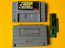 MARVEL SUPER HEROES WAR OF GEMS SNES AUTENTHIC CLEANED & TESTED