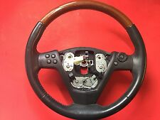 2003-2007 CADILLAC CTS STEERING WHEEL WOOD GRAIN USED OEM!