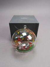 Rosenthal Weihnachtskugel Glas Ikarus van Loon Suncatcher Ø ca 8 cm