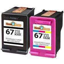 67XL Extra High Yield Black & Color Ink Cartridges for HP Deskjet 1255 2722 2732