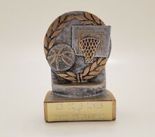 Basketball Trophy Resin! Free Engraving! Ships In 1 Business Day!