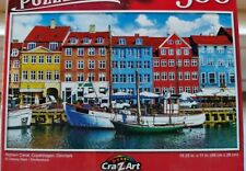 New 500 Piece Jigsaw Puzzle (Nyhavn Canal, Denmark) Puzzlebug