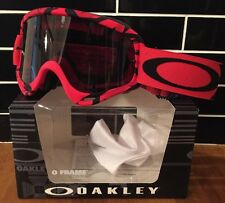 Oakley O Frame Imtimidator Motocross Goggle With Dark Lens CRF Free UK Post