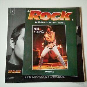Disco Vinile 33 Giri DeAgostini Il Rock N°4 Simon & Garfunkel Bookends 1989