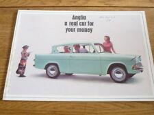 FORD ANGLIA & ANGLIA ESTATE  CAR BROCHURE 1966/67