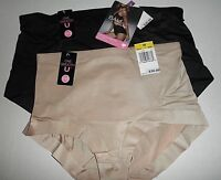 NWT Bali Powershape Medium Control Brief Panty 8056. Black or Nude, M XX
