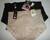 NWT Bali Powershape Medium Control Brief Panty 8056. Black or Nude, M XX