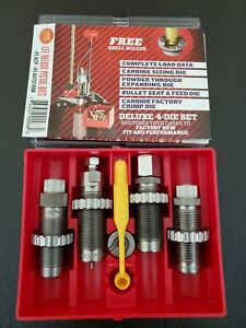 Lee Deluxe Carbide 4-Die Set 45 ACP-45 AUTO RIM/With free shellholder # 90968