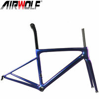 787g Carbon Frame Road Bicycle Racing Bike Frameset Monocuque Lightweight