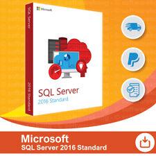 Microsoft SQL Server 2016 Standard - 5 User/Benutzer CAL