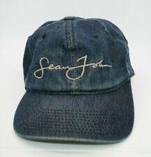Sean John Embroidered Signature Denim Hat