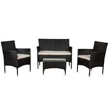 Polyrattan Gartenmöbel Gartenset Sitzgruppe Rattan Lounge Garnitur Set Komplett