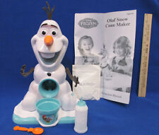 Disney Frozen Olaf Snow Cone Maker Plastic Syrup Bottle Cup Spoon & A Mix Lot 5