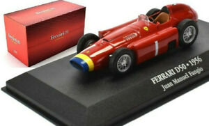 FERRARI D50 FANGIO 1956 1:43 Scale F1 Toy Car Model Formula One Miniature
