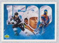 1992 93 UPPER DECK WAYNE GRETZKY 1500 POINT #33