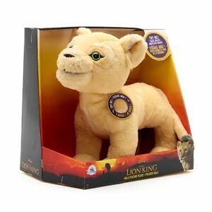 DISNEY Lion King Nala Talking, Moving and Music Medium Soft Toy Plush **NEW**