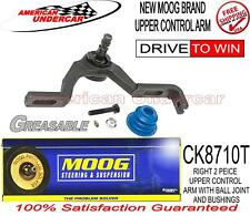 MOOG LIFETIME CK8710T K8710T RIGHT UPPER CONTROL ARM WITH PRESSED IN BALL JOINT