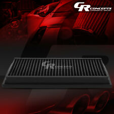 BLACK WASHABLE HIGH FLOW FILTER FOR 92-11 FORD/LINCOLN CROWN VICTORIA/TOWN CAR