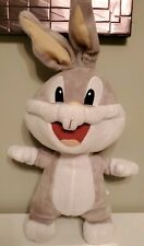 Baby bugs bunny plush Stuffed baby Looney Tunes Warner Bros Six Flags  16""