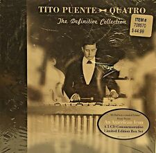 Tito Puente - Quatro The Definitive Collection 5 CD Box Set 57 Songs