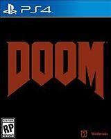 NEW Doom (Sony PlayStation 4, 2016)