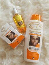 CT+ Clear Therapy Extra Lightening Lotion with Carrot Oil 16.9oz,Serum  and soap