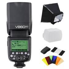 Godox Ving V860II-C E-TTL HSS 2.4G Li-ion Battery Flash Speedlite Kit for Canon