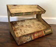 Vtg 1930s Beech-Nut Chewing Gum Metal Store Display Rack Counter Top Stand