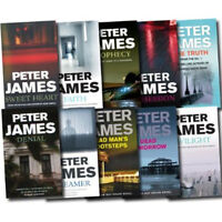 Peter James Collection 10 Books Set Faith,Dead Tomorrow,Prophecy Paper Back NEW