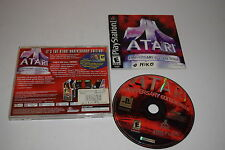 Atari Anniversary Edition Redux Sony Playstation PS1 Video Game Complete