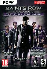 "JEU PC - SAINTS ROW 3 THE THIRD THE FULL PACKAGE (GTA 5 V 4 IV) ""NEUF"" VF"