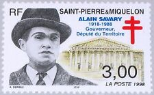 ST PIERRE MIQUELON SPM 1998 745 659 Alain Savary gouverneur adjoint territorial *.