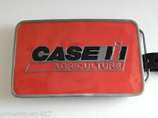 Case IH Agriculture Red Belt Buckle