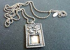 1995 MICHELE BARATTA-STERLING SILVER-925-PHOTO PENDANT ON A SILVER CHAIN-S 1-6