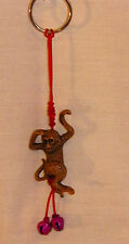 NEW CHINESE ZODIAC LUCKY SWINGING MONKEY KEY RING CELL PHONE ACCESSORY