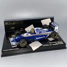 1/43 Minichamps Williams Renault FW15 Senna Estoril 1994 RARE Part # 430940102