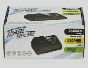 Brand New Activ Energy 20V 4Ah Universal Battery Charger