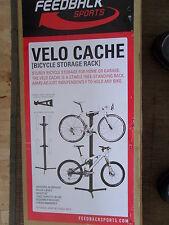 Feedback Sports Velo Cache 2 Bike / Cycle Column Stand 2 Bikes Black  £199.99