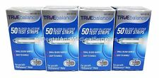 200 TRUE Balance Diabetic Test Strips 4 x 50ct Exp 2019+ for TRUEBalance Meter