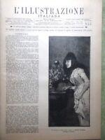 L'illustrazione Italiana 18 Dicembre 1887 Margherita Massaua Strenna Stradivari