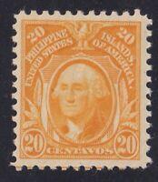 US Possessions Philippines Scott 282 20c Portrait 1914 Issue Perf 10
