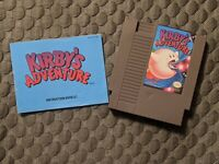 Kirbys Adventure NES Nintendo entertainment system Game & Manual CLEAN! VGC