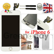 """Replacement For iPhone 6 4.7"""" LCD Touch Screen Digitizer White Gold Home Button"""