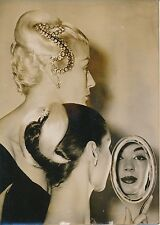 Mode 1955 - Haute-Coiffure Fernand Aubry Jeunes Femmes Bijou Cheveux - PR 705